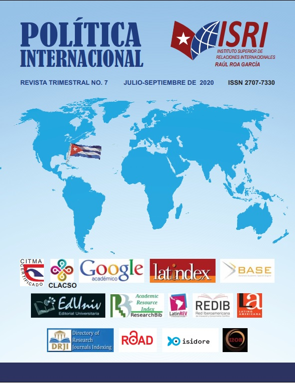 No. 7 Política Internacional