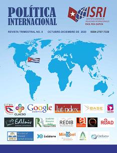 No. 8 Política Internacional